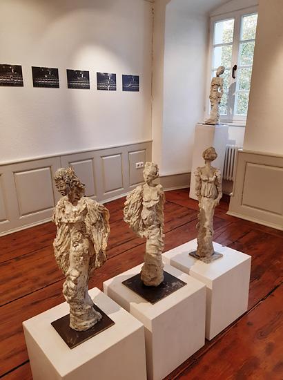 Petra Weiner-Jansen - Ausstellungsansicht (mit Martin Loos, Fotografie)