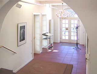 Galerie Altes Rathaus Wörth - Innenansicht