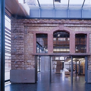 Stadtbibliothek Landau - Innenraum