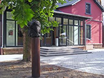 Kunsthaus Frankenthal - Außenansicht (Haupteingang)