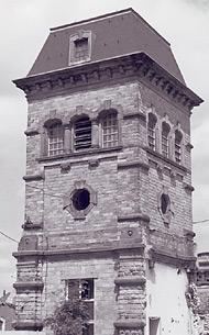 Turm des alten Schlachthofes