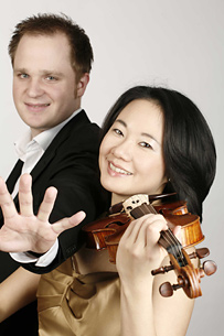 Andrea Kim und Florian von Radowitz