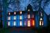 Villa Wieser bei Nacht