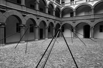 Stefan Forler - Turnierhof - 4 Objekte im Hof der Alten Münze (München)