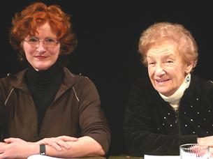 Christiane Richers und Esther Bauer