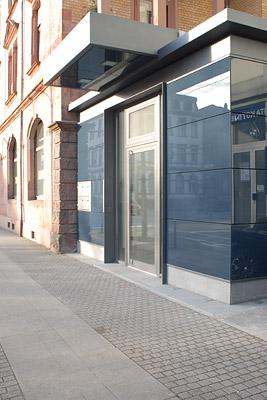 Galerie M am Deutschen Tor - Außenansicht (Haupteingang)