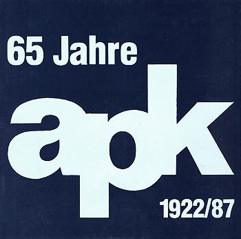 65 Jahre arbeitsgemeinschaft pfälzer künstler