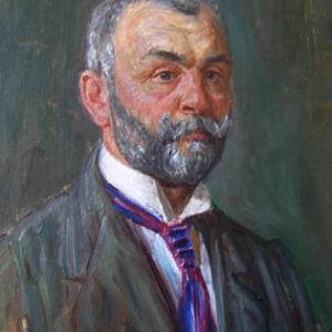 Heinrich Strieffler - Selbstbildnis (1928)