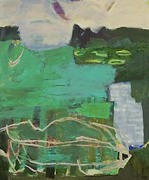Irmgard Weber - Grünes Land